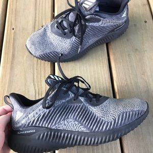 Adidas Alphabounce shoes.